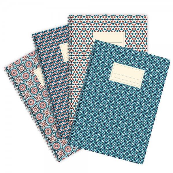 4er-Set Notizblöcke Marokko Nr. 2 A4