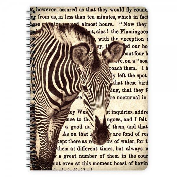 Notizblock Zebra A5