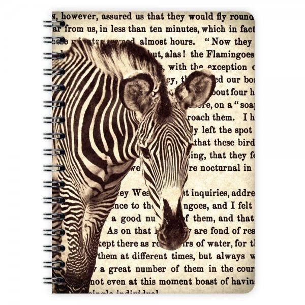 Notizblock Zebra A6