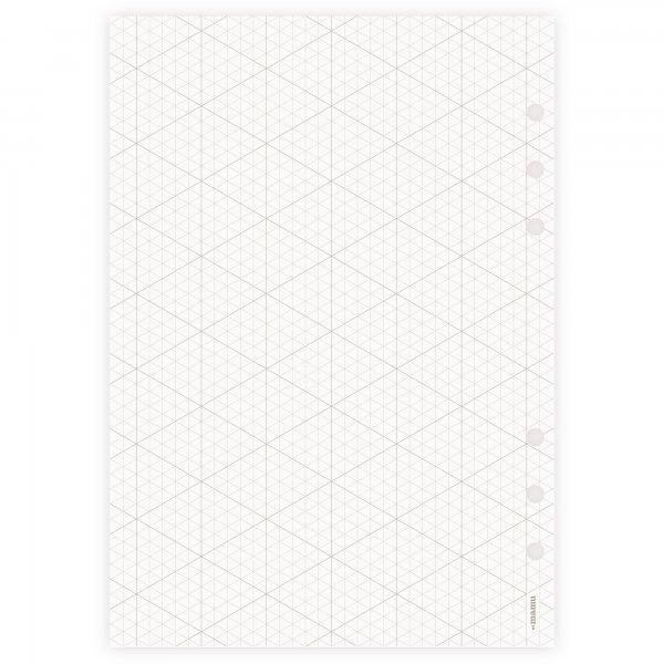 Einlagen A5 | Isometriepapier