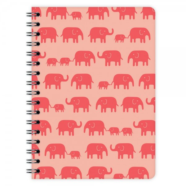 Notizblock Elefanten A6
