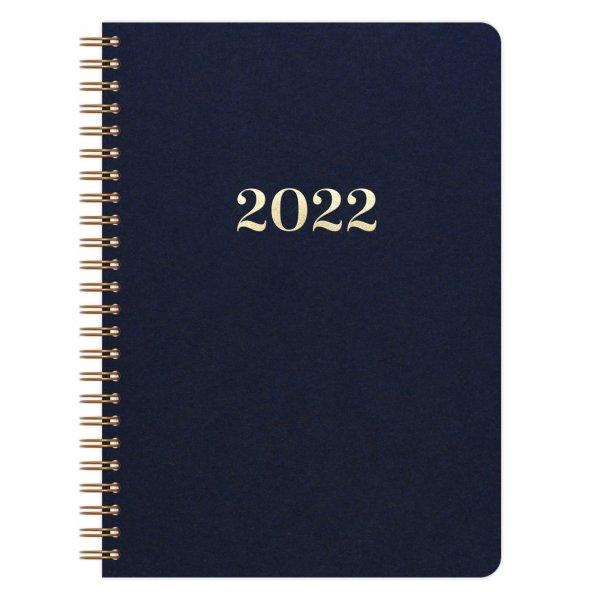 Kalender A5 2022 | Dunkelblau