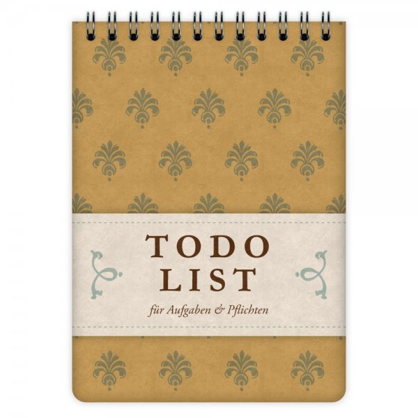 Todo List Pattern A6