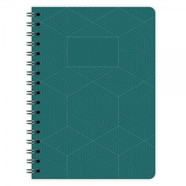 Notizblock Geometric Nr. 3 A6