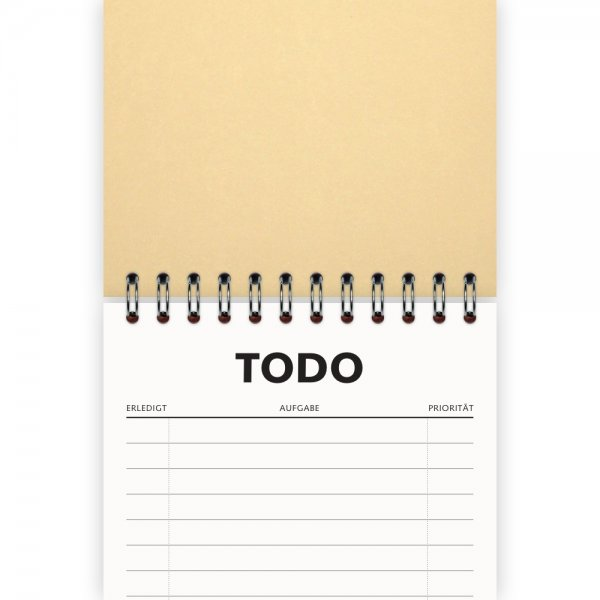 To-Do-Liste DIN A6 | Farbe Beige