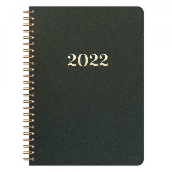 Kalender A5 2022 | Dunkelgrün