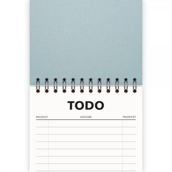 To-Do-Liste DIN A6 | Farbe Hellblau