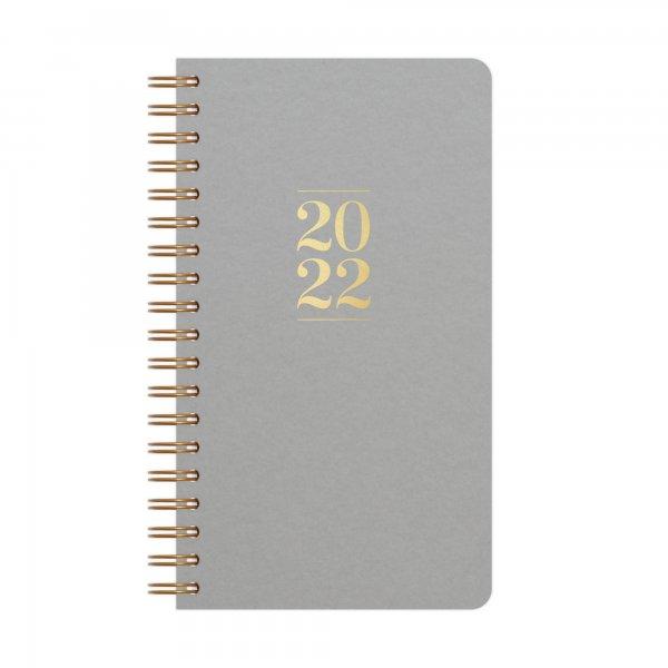 Kalender Klein 2022 | Grau