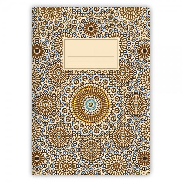 Notizheft Muster Marokko Nr. 2 A5