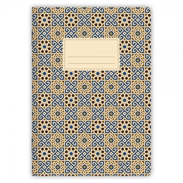 Notizheft Muster Marokko Nr. 3 A5