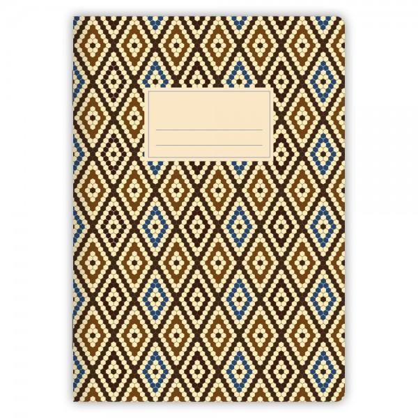 Notizheft Muster Marokko Nr. 4 A5