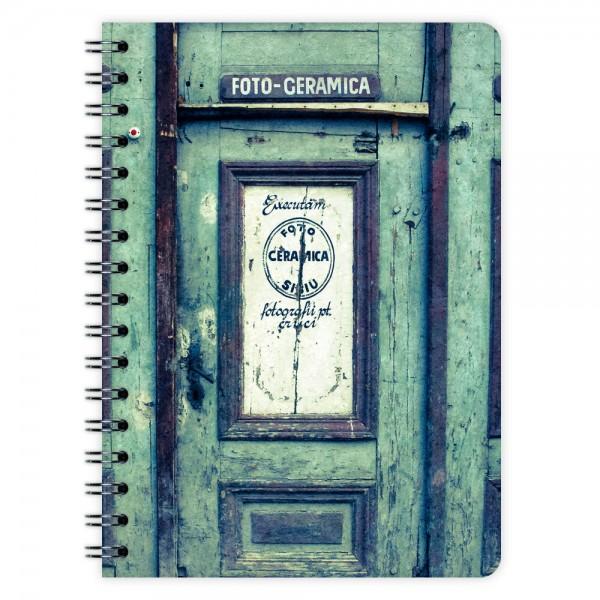 Notizblock Vintage Door A6