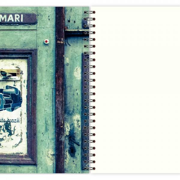 Notizblock Vintage Door A5