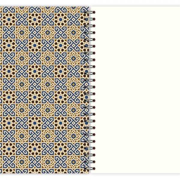 Notizblock Muster Marokko Nr. 3 A5