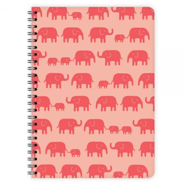 Notizblock Elefanten A5