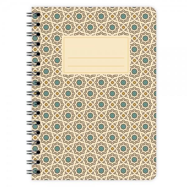 Notizblock Muster Marokko Nr. 1 A6