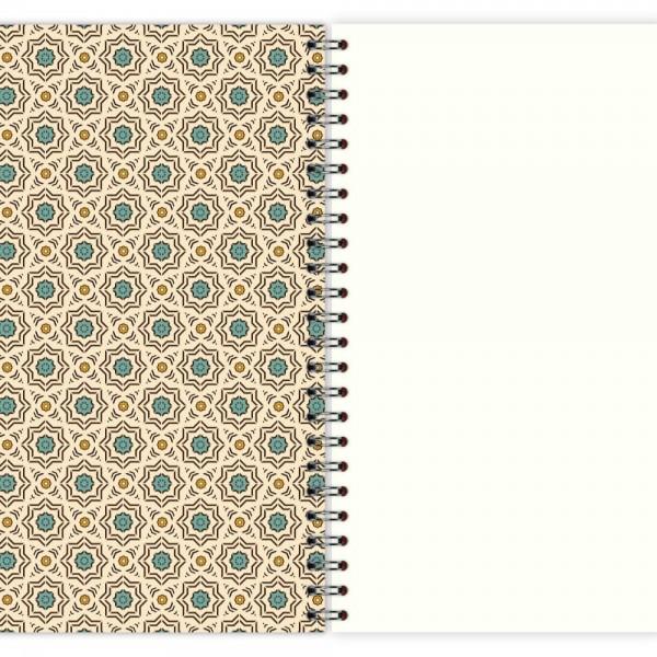 Notizblock Muster Marokko Nr. 1 A5