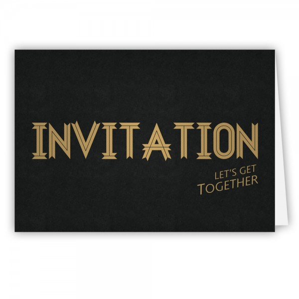 Grußkarte Einladung