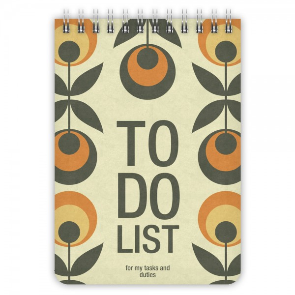 Todo List Retro Pattern A6
