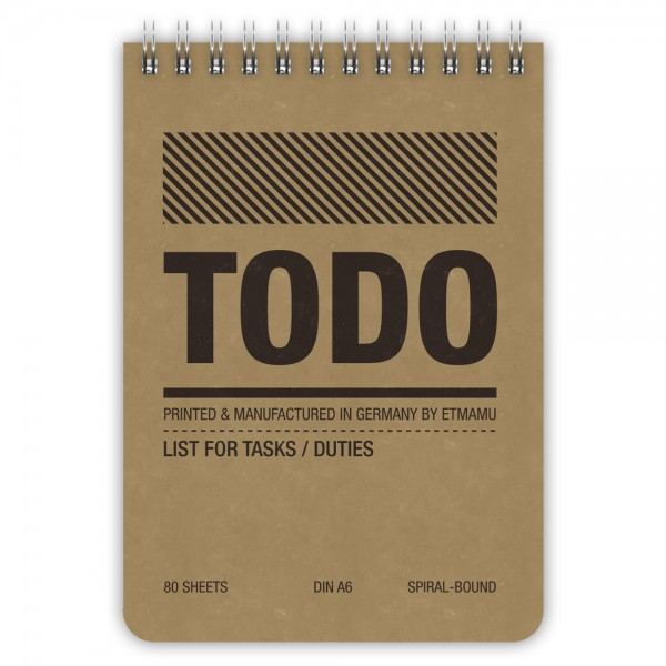 Todo List Simple A6